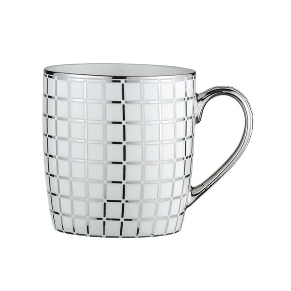 BIA Lattice Mug Platinum