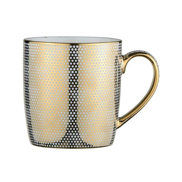 BIA Dots Mug Gold