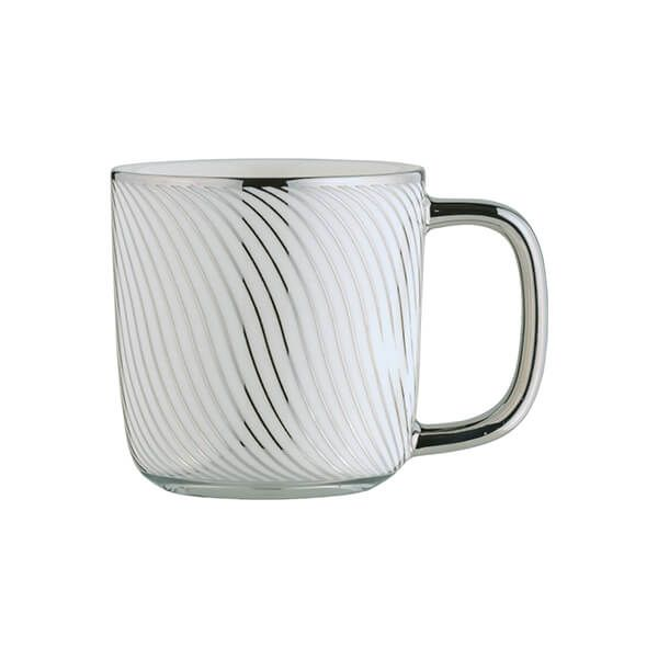 BIA Swirl Espresso Mug Platinum