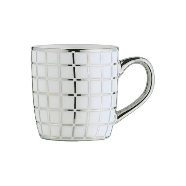 BIA Lattice Espresso Mug Platinum