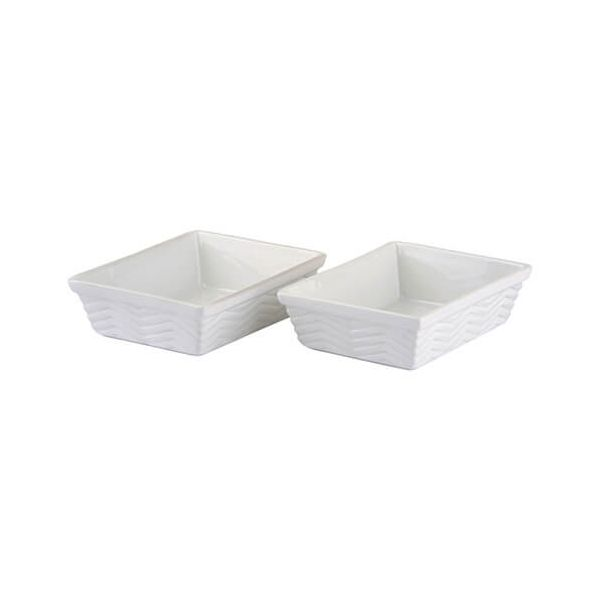 Quick Recipe Set of 2 Rectangular Roasters