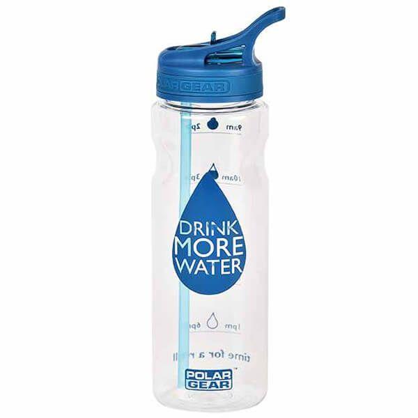 Polar Gear Water Tracker 750ml Tritan Bottle Blue