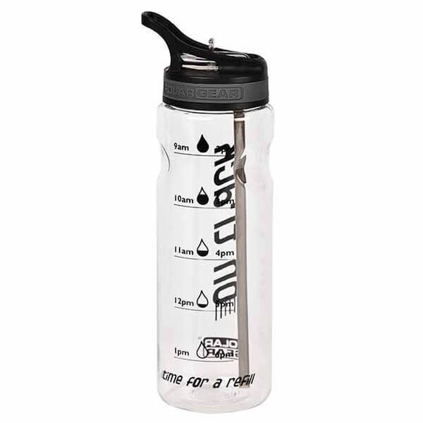 Polar Gear Water Tracker 750ml Tritan Bottle Black