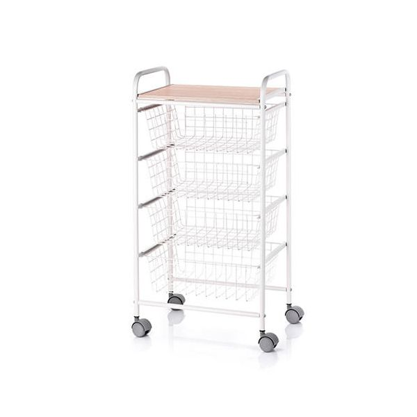 Hahn DHO Fiesta Beech Kitchen Trolley