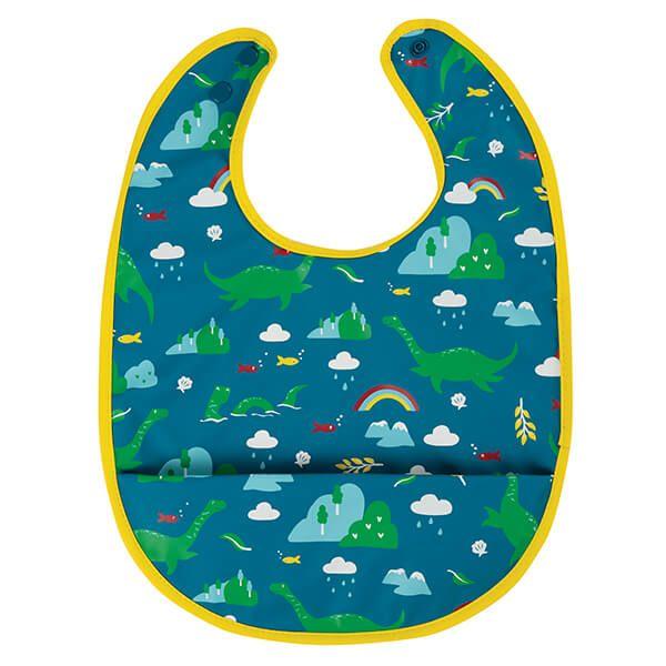 Frugi Organic Loch Blue Nessie Spick & Span Bib