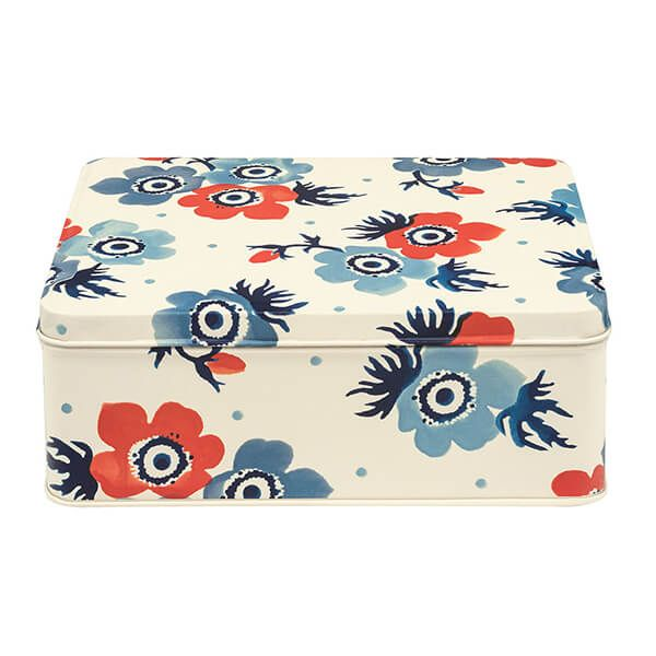 Emma Bridgewater Anemone Deep Rectangular Tin