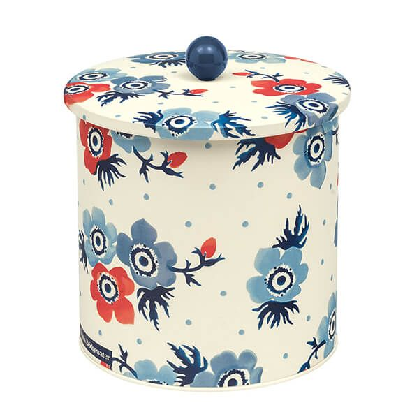 Emma Bridgewater Anemone Biscuit Barrel Tin