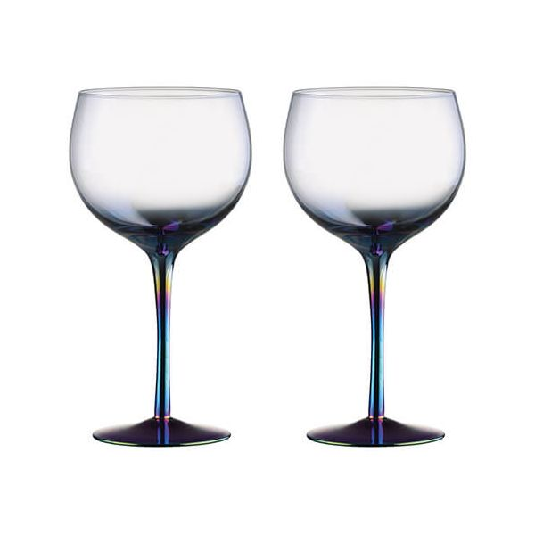 Artland Mirage Set Of 2 Gin Glasses