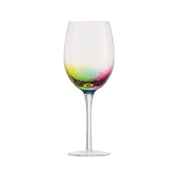 Artland Neon Set Of 2 Wine Glasses