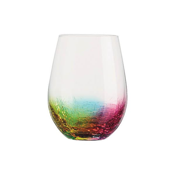 Artland Neon Set Of 2 DOF Tumbler Glasses
