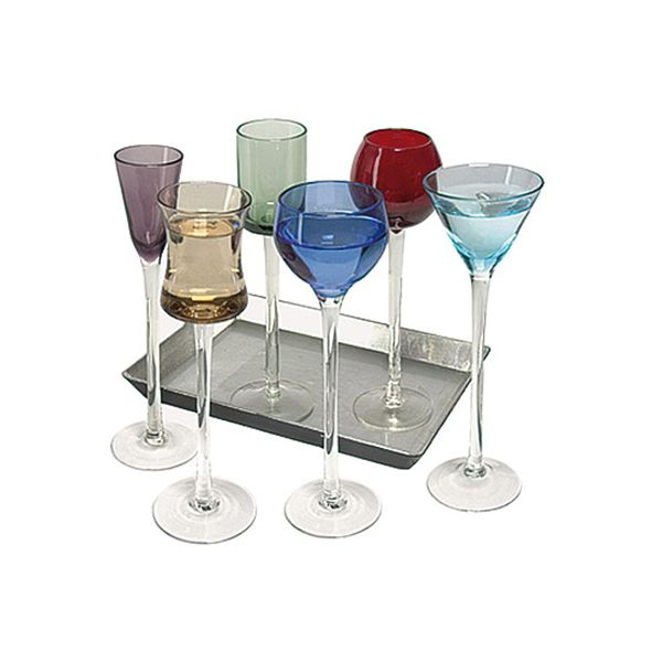 Artland 7 Piece Long Stem Liqueur Set