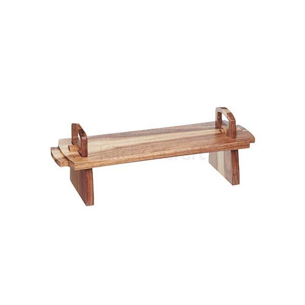 Artesa Large Acacia Wood Antipasti Platform Platter