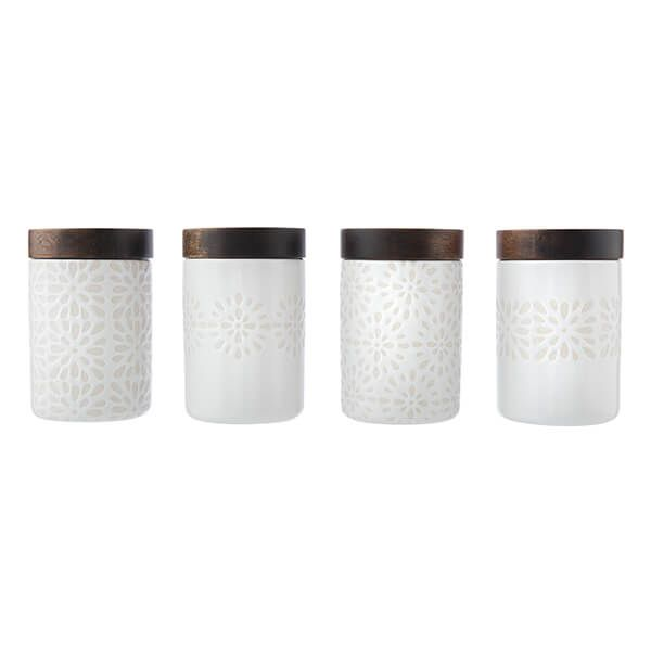 Artisan Street 120ml Mini Storage Jar Set Of 4