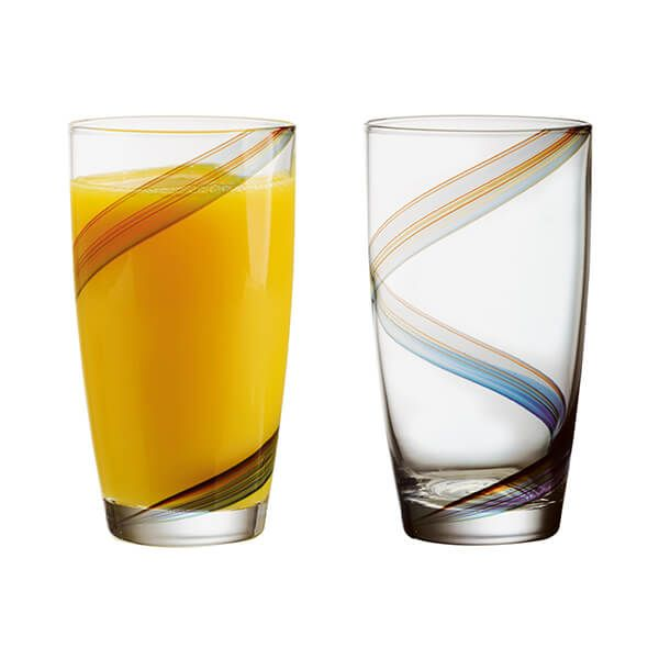 Anton Studios Set of 2 Arc Hiball Tumblers