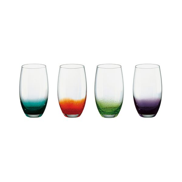 Anton Studios Fizz Set of 4 Hiball Tumblers