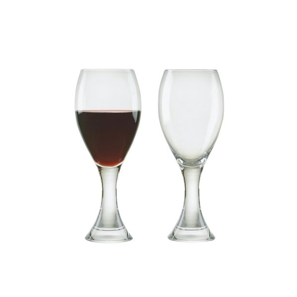 Anton Studios Design Manhattan Set of 2 Red Wine Glasses