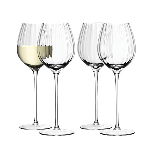 LSA Aurelia White Wine Glass 430ml Set Of Four