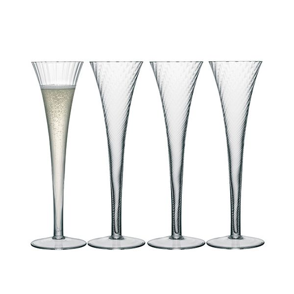 LSA Aurelia Champagne Flute 200ml Set Of Four
