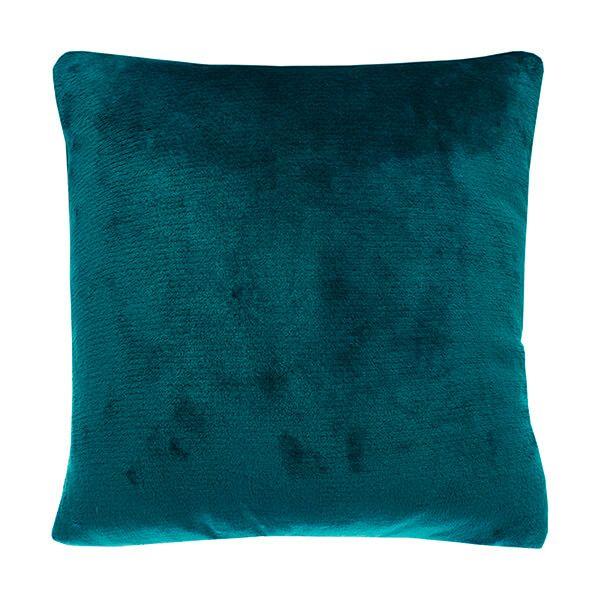 Walton & Co Cashmere Peacock Touch Cushion