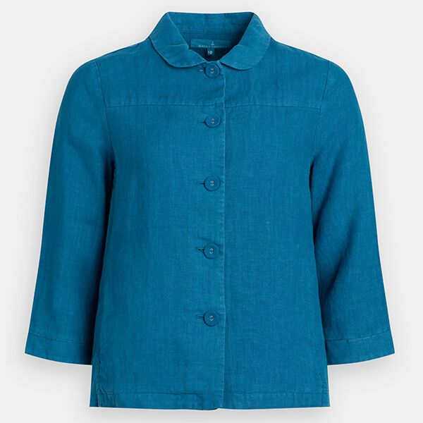 Seasalt Treverbyn Jacket Mid Teal