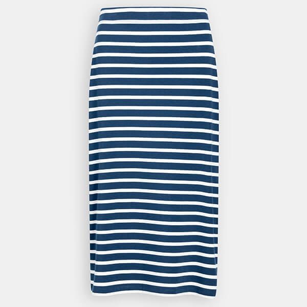 Seasalt Sailor Skirt Breton Night Ecru