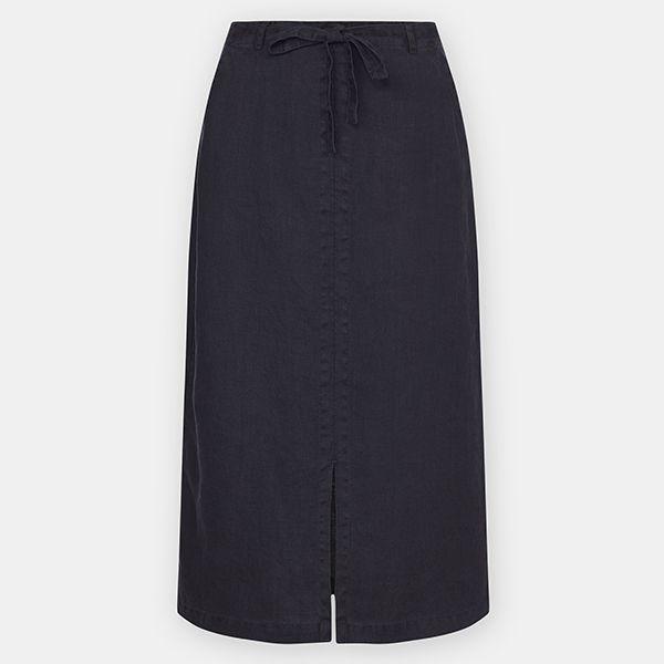 Seasalt Pencil Lead Skirt Dark Night