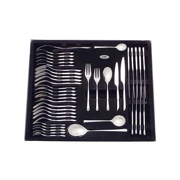 Stellar Raglan Polished 44 Piece Cutlery Gift Box Set