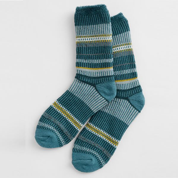 Seasalt Cabin Socks Angel Dark Lake