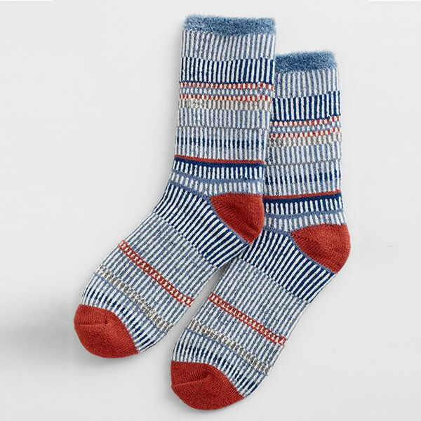 Seasalt Cabin Socks Angel Monty Blue