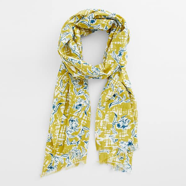 Seasalt New Everyday Scarf Painted Campion Dune