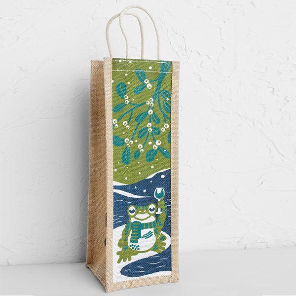 Seasalt Wine Jute Mistletoad