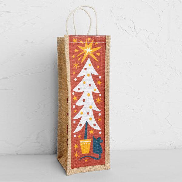 Seasalt Wine Jute Christmas Star Tree