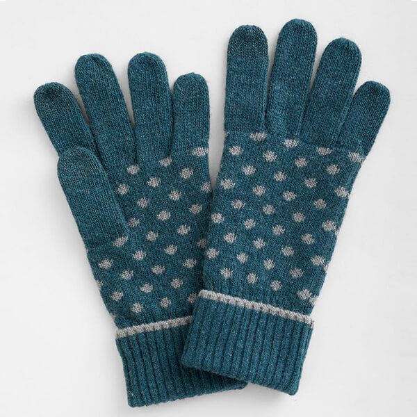 Seasalt Very Clever Gloves Confetti Dark Lake Cobble