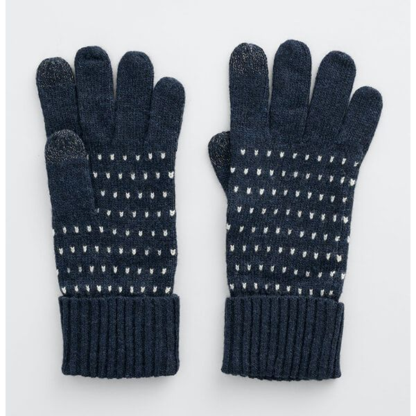 Seasalt Very Clever Gloves Shannon Dark Night