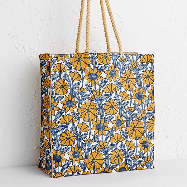 Seasalt Kitchen Garden Bag Sketched Motifs Honeysuckle