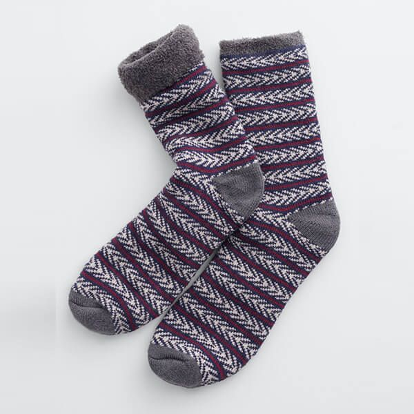 Seasalt Men's Cabin Socks Marchen Midnight Aran