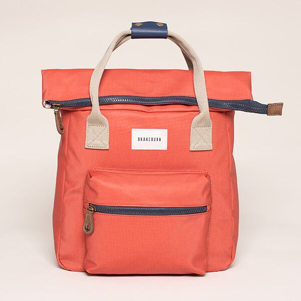 Brakeburn Orange Rucksack Bag