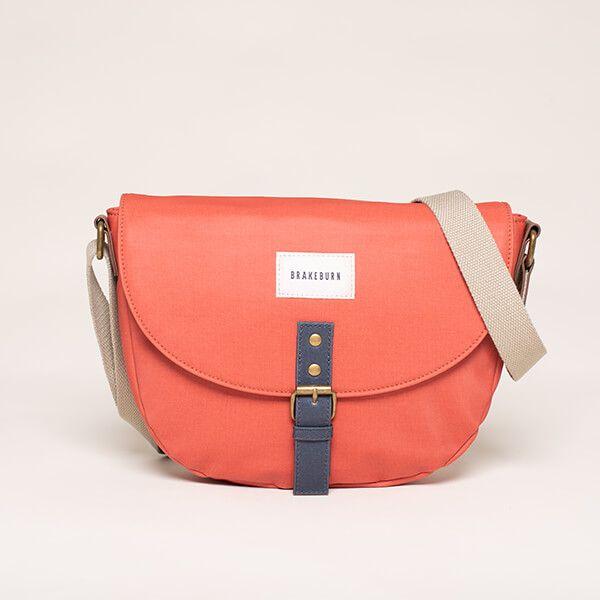 Brakeburn Orange Saddle Bag