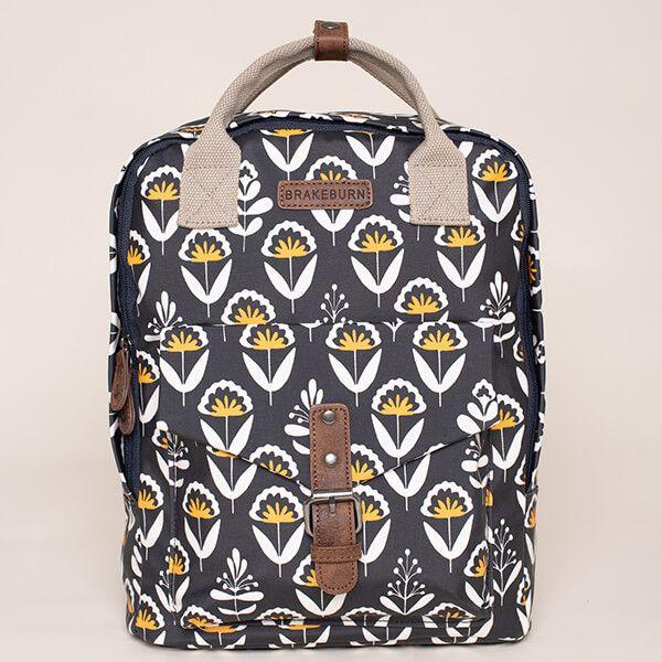Brakeburn Geo Floral Square Backpack