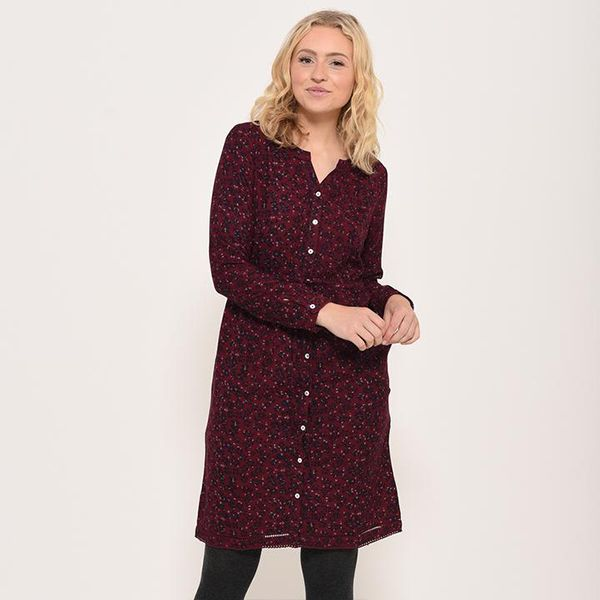 Brakeburn Red Winter Anemone Dress