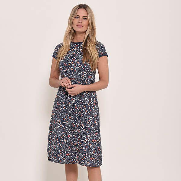 Brakeburn Ditsy Jersey Dress