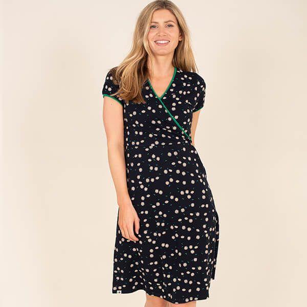 Brakeburn Daisy Wrap Dress