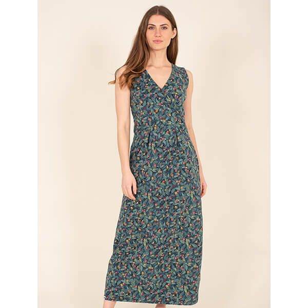Brakeburn Summer Berry Maxi Dress