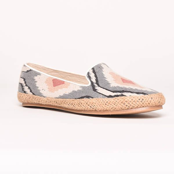 Brakeburn Grey Espadrille Pumps