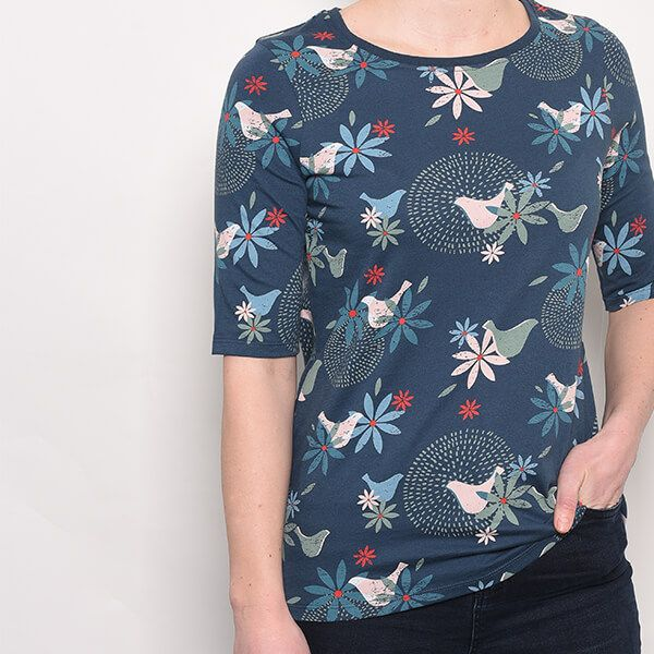 Brakeburn Dove 1/2 Sleeve T-Shirt