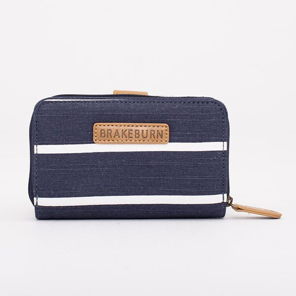 Brakeburn Navy Stripe Wallet