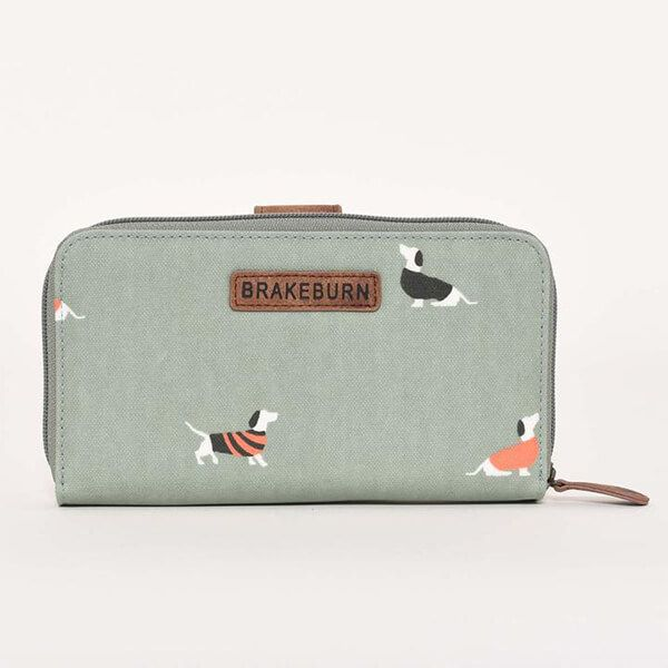 Brakeburn Sausage Dog Fold Over Purse