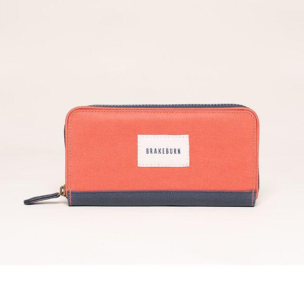 Brakeburn Orange Zip Purse