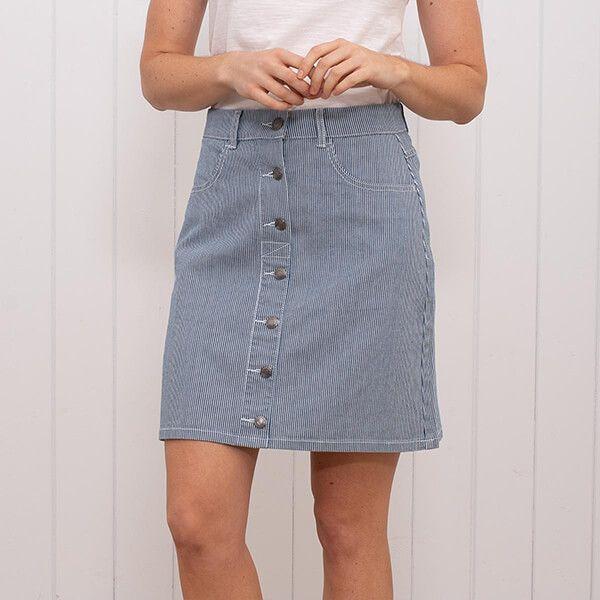 Brakeburn Candy Stripe Skirt