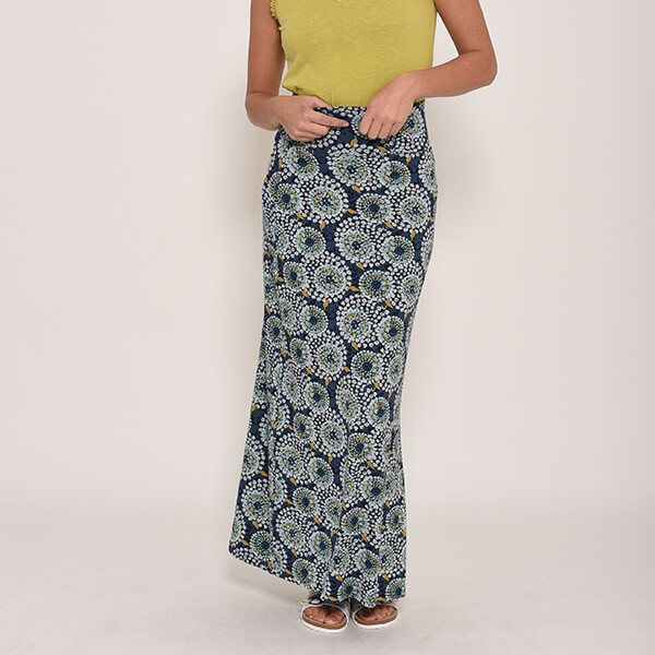 Brakeburn Apple Maxi Skirt